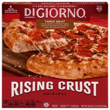DiGiorno Pizza, Original Rising Crust, Three Meat