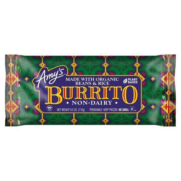 Amys Burrito, Non-Dairy