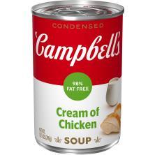Campbells Condensed Soup, Cream of Chicken