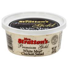 Mrs Strattons Premium Gold Chicken Salad, White Meat