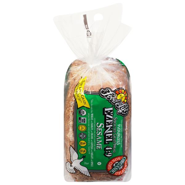 Food For Life Ezekiel 4:9 Bread, Sprouted Grain, Sesame