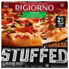 DiGiorno Pizza, Cheese Stuffed Crust, Supreme