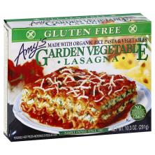 Amys Lasagna, Gluten Free, Garden Vegetable