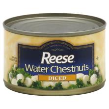 Reese Water Chestnuts, Diced