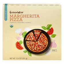 GreenWise Pizza, Organic, Margherita