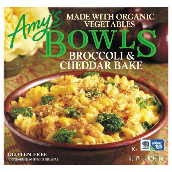 Amys Bowls Broccoli & Cheddar Bake