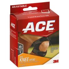 Ace Knee Strap, Dual, Adjustable, Moderate Support