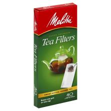 Melitta Tea Filters, Super Premium