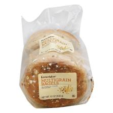 GreenWise Multigrain Bagels 4 Count