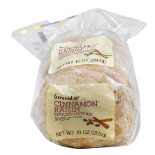 GreenWise Cinnamon Raisin English Muffin