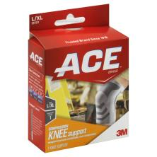 Ace Knee Support, Compression, Large/X-Large