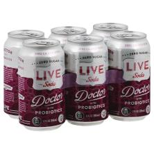 Live Soda with Probiotics, Doctor