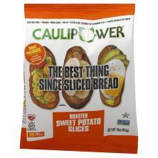 Sweet Potatoasts Sweet Potato, Roasted, Slices