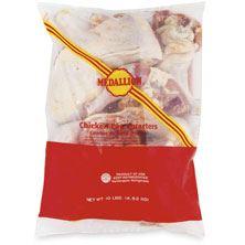 Medallion Chicken Leg Quarters, 10 Lb Bag, USDA Premium