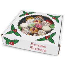 Seasons Greetings Cookie Platter