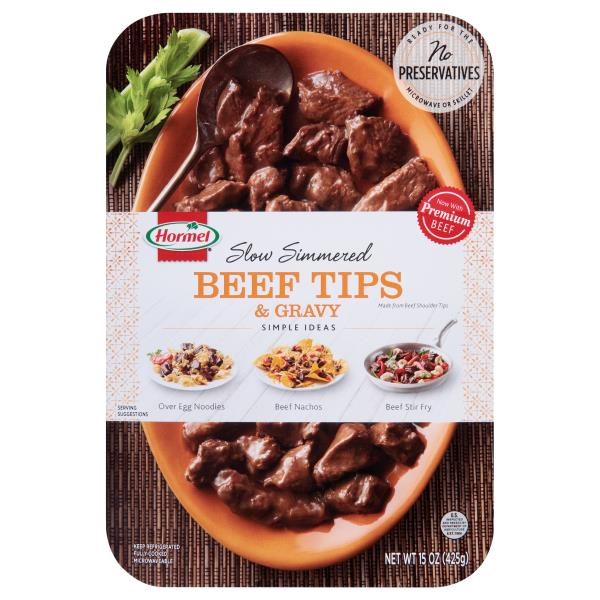 Hormel Beef Tips & Gravy, Slow Simmered