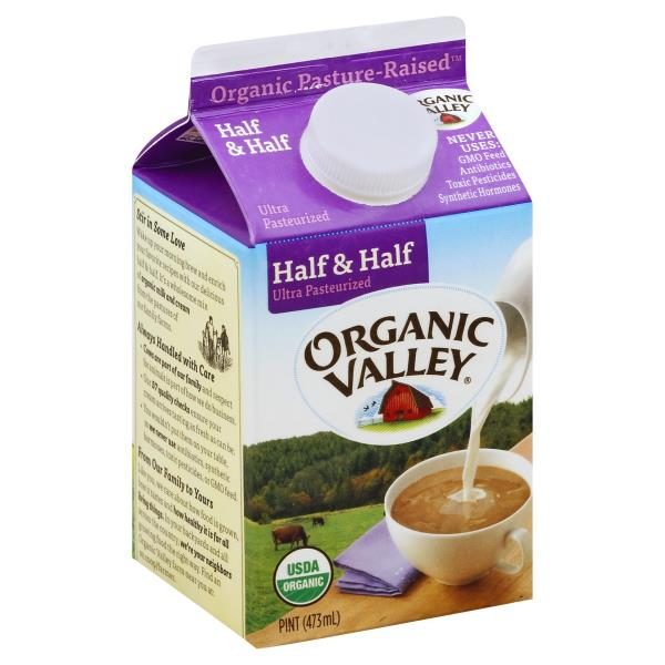picture relating to Organic Valley Coupons Printable known as Organic and natural Valley Fifty percent Fifty percent :