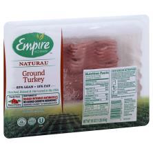 Empire Kosher Turkey, Ground, 85% Lean