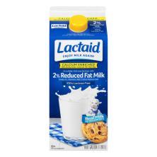 Lactaid Milk, Reduced Fat, 2% Milkfat