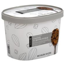 Publix Premium Ice Cream, Light, Coffee Almond Fudge