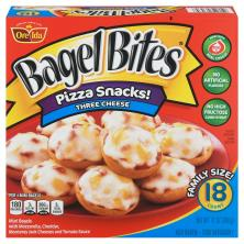 Bagel Bites Mini Bagels, Three Cheese, Family Size!