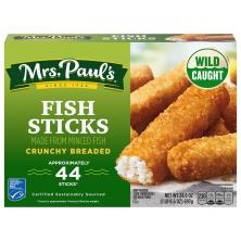 Mrs Pauls Fish Sticks, Crunchy