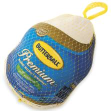 Butterball Whole Turkey 26-28 Pounds, Grade A, Frozen