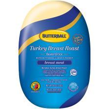 Butterball Turkey, Roast, Breast, Boneless