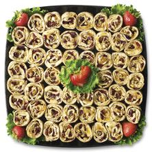 Publix Deli Fruit and Nut Roll-Up Platter, Small