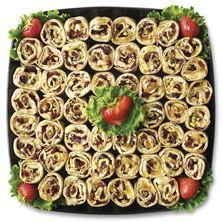 Publix Deli Fruit and Nut Roll-Up Platter, Large