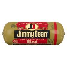 Jimmy Dean Sausage, Premium, Pork, Hot