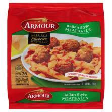 Armour Meatballs, Italian Style