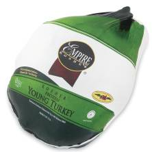 Empire Whole Turkey 16-20 Pounds, Frozen Kosher Poultry