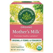 Traditional Medicinals Herbal Tea, Organic, Mother's Milk, Caffeine Free, Wrapped Tea Bags