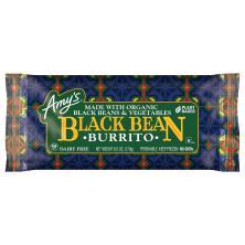 Amys Burrito, Black Bean
