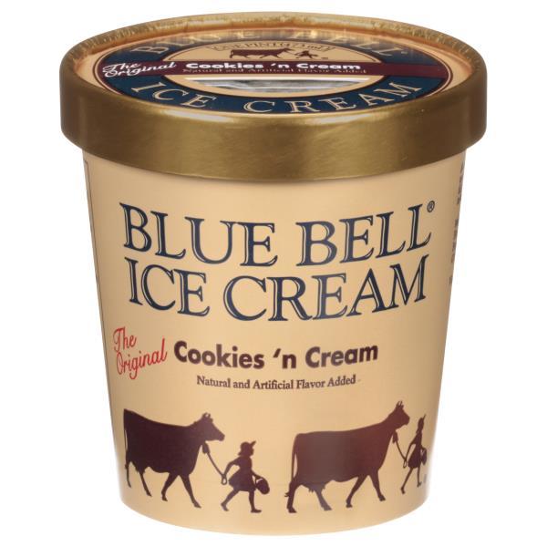 Blue Bell Ice Cream, Homemade Vanilla Flavored