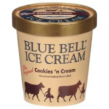 Blue Bell Ice Cream, Homemade Vanilla Flavored