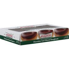 Krispy Kreme Glazed Doughnuts, Chocolate Iced