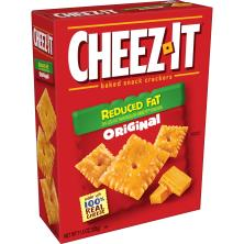Cheez It Baked Snack Crackers, Reduced Fat, Original