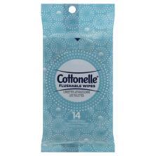 Cottonelle FreshCare Cleansing Cloths, Flushable