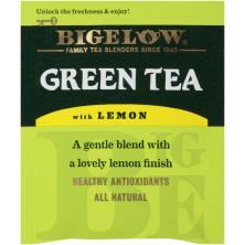 Bigelow Green Tea, with Lemon, Bags