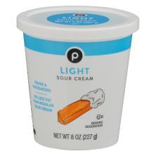 Publix Sour Cream, Light