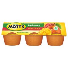 Motts Applesauce, Mango Peach