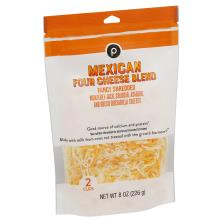 Publix Four Cheese Mexican Blend, Shredded Cheese