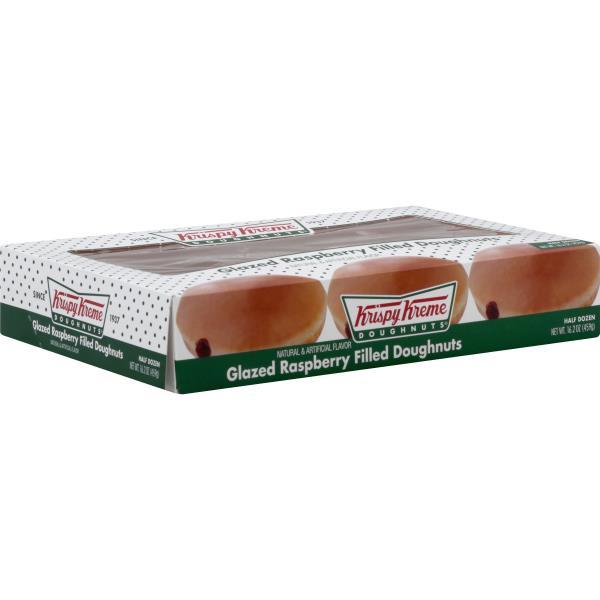 krispy kreme doughnuts glazed raspberry filled - Krispy Kreme Christmas Hours