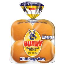 Bunny Hamburger Buns