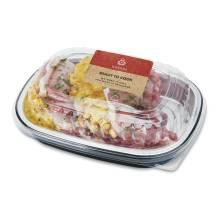 Aprons Bone in Pork Chop, Stuffed with Cornbread Dressing Prepared Fresh In-Store