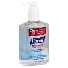 Purell Hand Sanitizer, Advanced, 2X Sanitizing Strength, Refreshing Gel