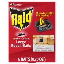Raid Roach Baits, Large, Double Control
