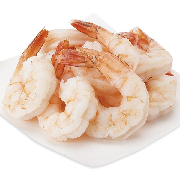 Cooked Shrimp, Jumbo, 16-20 Shrimp/Lb Previously Frozen, Farmed